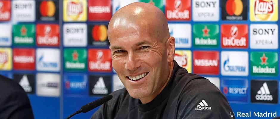 Zidane: «Nous N'allons Pas Changer Notre Manière De Jouer Au Calderon»